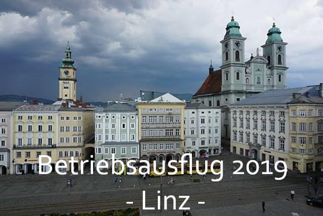Betriebsausflug 2019 nach Linz